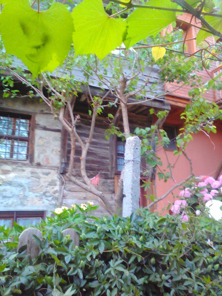 Созопол Къща за гости Деница-Изглед от терасата към стария град