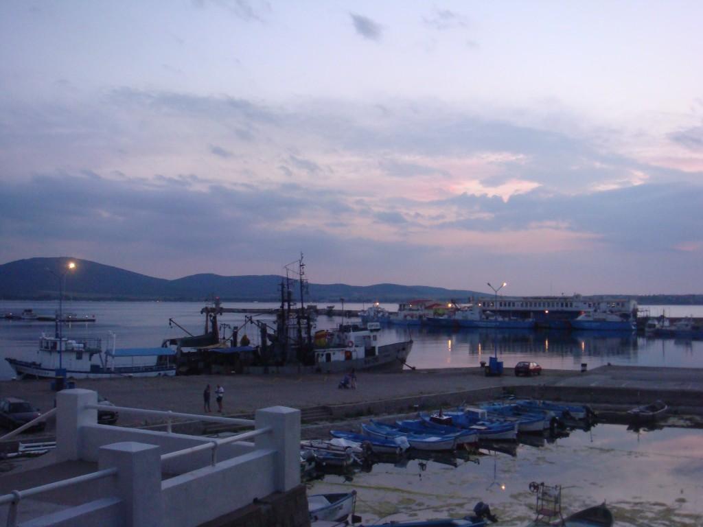 Созопол ,залез над пристанището - юни 2015