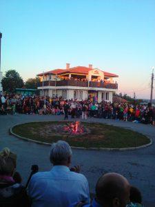 село Българи Нестинари ,Подготовка на Огъня