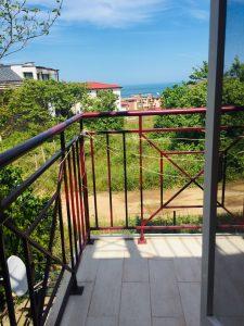 """Апартамент под наем в Созопол вила """"Sunny Hills""""2 тераса с изглед към морето"""